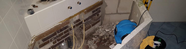 ventilator voor drogen wanden, muren en plafond